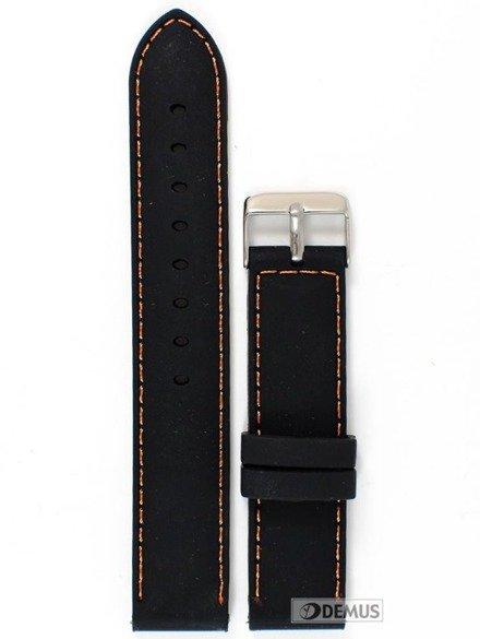 Pasek silikonowy do zegarka - Chermond PG1.20.1.5 - 20 mm