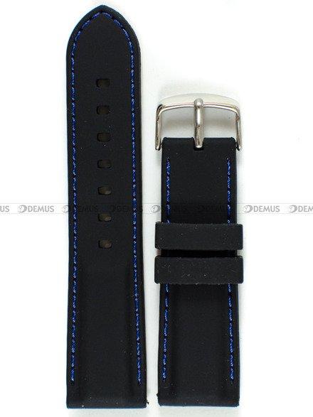 Pasek silikonowy do zegarka - Chermond PG1.24.1.2 - 24 mm