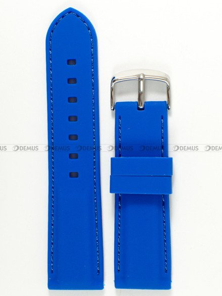 Pasek silikonowy do zegarka - Chermond PG1.24.21.21 - 24 mm