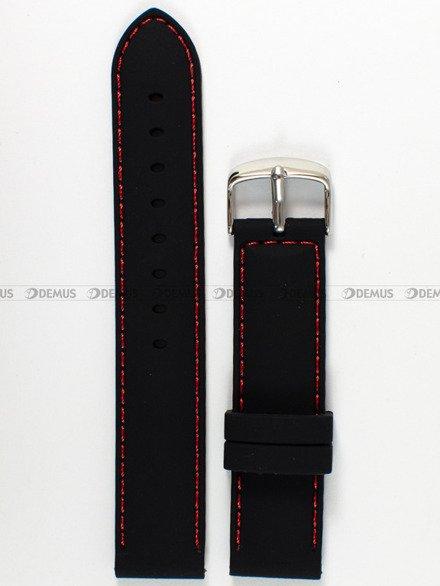 Pasek silikonowy do zegarka - Chermond PG10.20.1.4 - 20 mm
