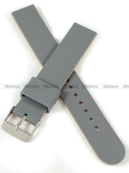 Pasek silikonowy do zegarka - Chermond PG11.18.11.13 - 18 mm
