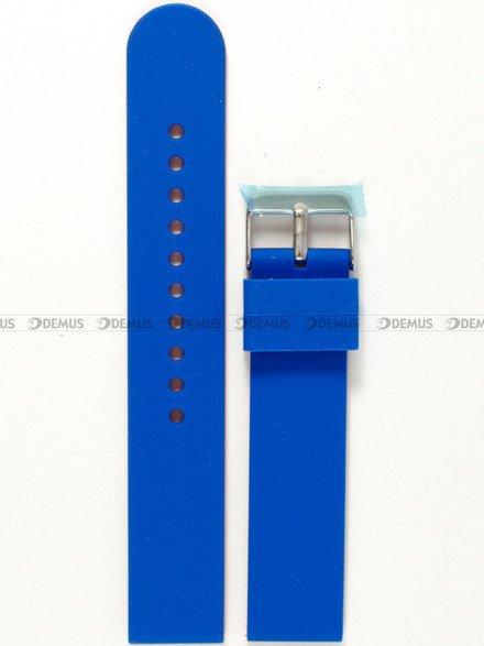 Pasek silikonowy do zegarka - Chermond PG11.20.2.4 - 20 mm
