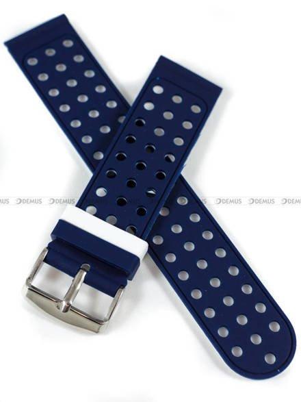 Pasek silikonowy do zegarka - Demus PGS2.22.5.7 - 22 mm