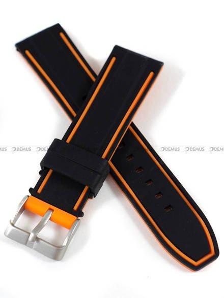 Pasek silikonowy do zegarka - Demus PGS5.22.1.12 - 22 mm