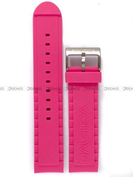 Pasek silikonowy do zegarka Nautica A13641GS - 22 mm