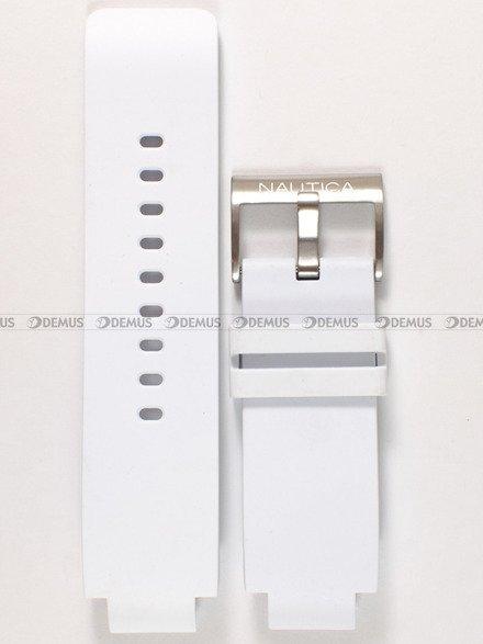 Pasek silikonowy do zegarka Nautica A52501G - 18 mm