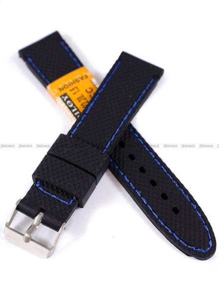 Pasek silikonowy do zegarka - SBR22.20.1.5 - 20 mm