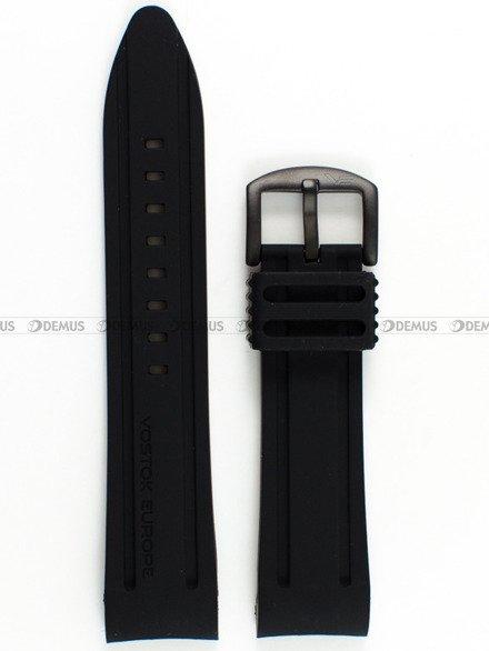Pasek silikonowy do zegarka Vostok Anchar NH35A-5104142 - 24 mm