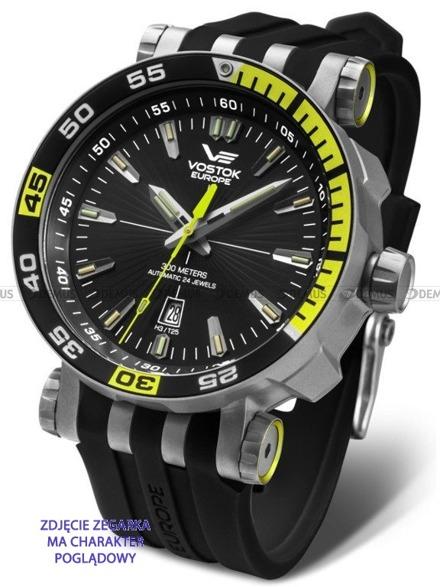 Pasek silikonowy do zegarka Vostok Europe Energia NH35A-575H283 - 20 mm