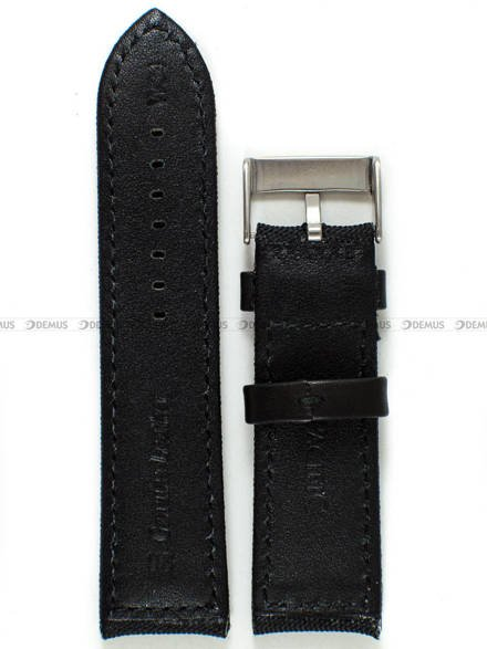 Pasek skórzano-nylonowy do zegarka - Pacific W34.26.1.1 - 26 mm