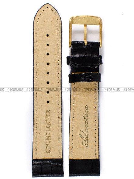 Pasek skórzany do zegarka - Adriatica PADR2.20.1-G - 20 mm