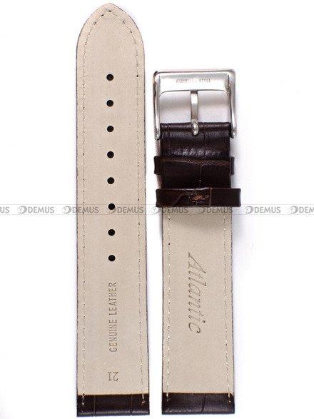 Pasek skórzany do zegarka Atlantic 53751.41.21 - 21 mm