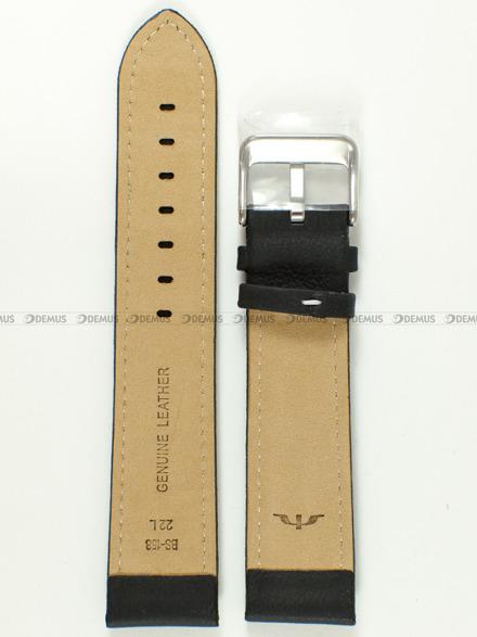 Pasek skórzany do zegarka Bisset - BS-158 - 22 mm - XL