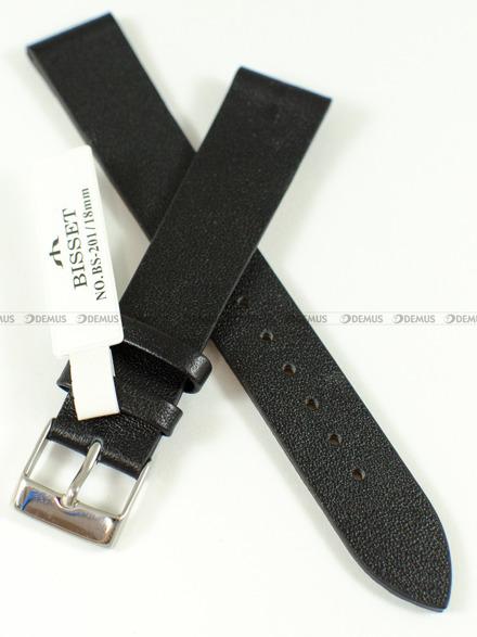 Pasek skórzany do zegarka Bisset - BS-201 - 18 mm