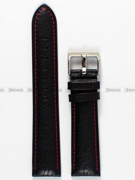 Pasek skórzany do zegarka Bisset - PB18.20.1 - 20 mm