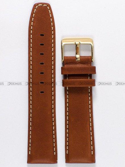 Pasek skórzany do zegarka Bisset - PB27.22.3 - 22 mm