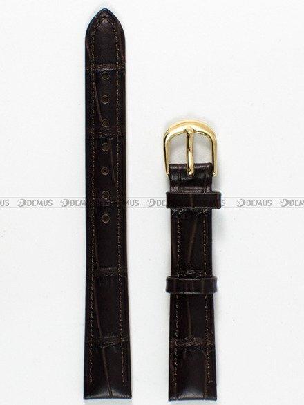 Pasek skórzany do zegarka Bisset - PB4.14.2 - 14 mm