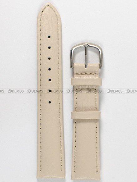 Pasek skórzany do zegarka Bisset - PB43.18.17 - 18 mm