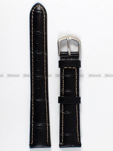 Pasek skórzany do zegarka Bisset - PB50.16.1.17 - 16 mm