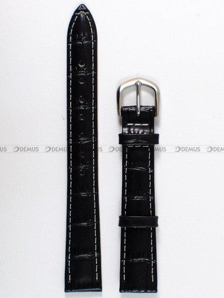 Pasek skórzany do zegarka Bisset - PB84.14.1.7 - 14 mm
