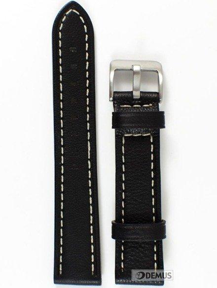 Pasek skórzany do zegarka - Condor 628R.01.20.W - 20 mm