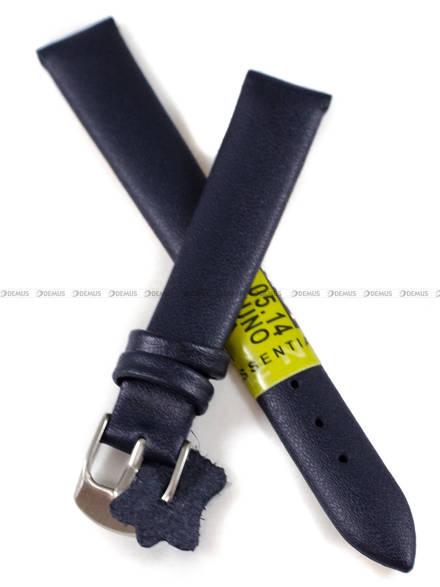 Pasek skórzany do zegarka - Diloy 301.14.5 - 14 mm