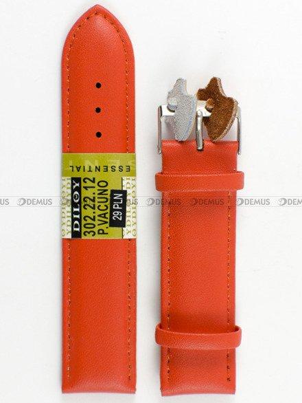 Pasek skórzany do zegarka - Diloy 302.22.12 - 22mm