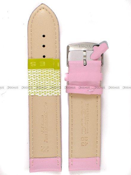 Pasek skórzany do zegarka - Diloy 302.22.13 - 22mm