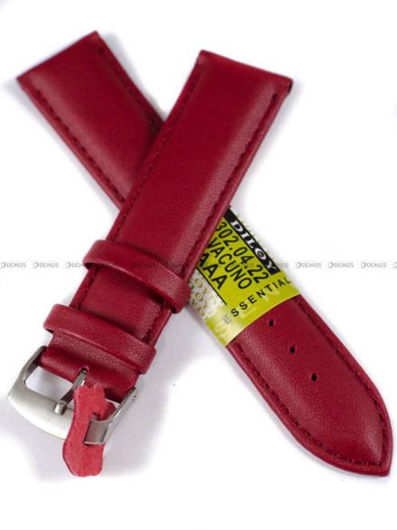 Pasek skórzany do zegarka - Diloy 302.22.4 22mm