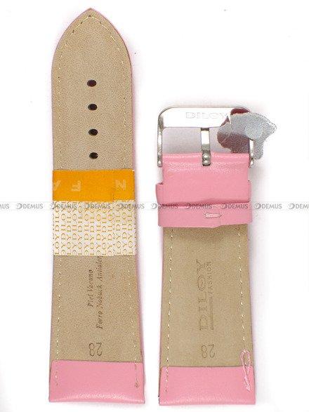 Pasek skórzany do zegarka - Diloy 302EA.28.13 - 28mm