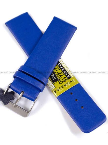 Pasek skórzany do zegarka - Diloy 327.22.16 - 22mm