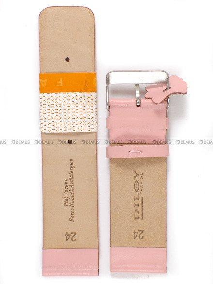 Pasek skórzany do zegarka - Diloy 327.24.13 - 24mm