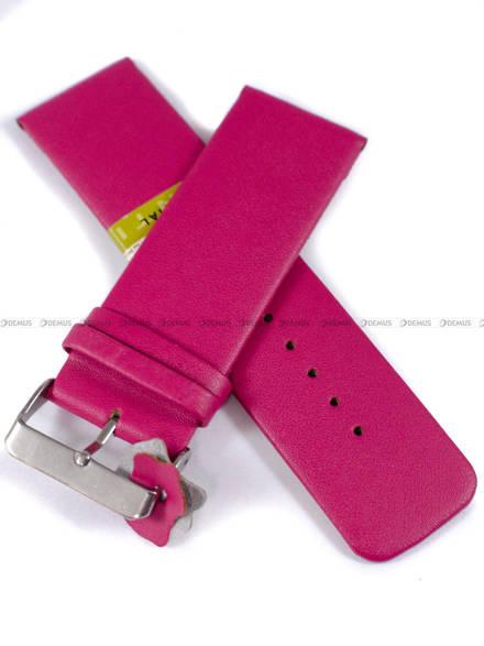 Pasek skórzany do zegarka - Diloy 327.28.14 - 28 mm