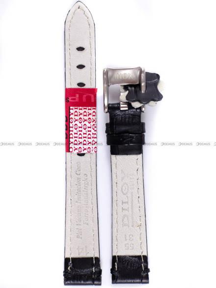 Pasek skórzany do zegarka - Diloy 361.14.1 - 14 mm