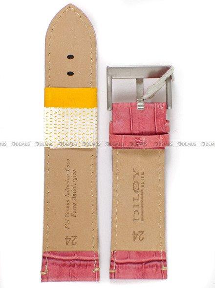 Pasek skórzany do zegarka - Diloy 361.24.13 - 24mm