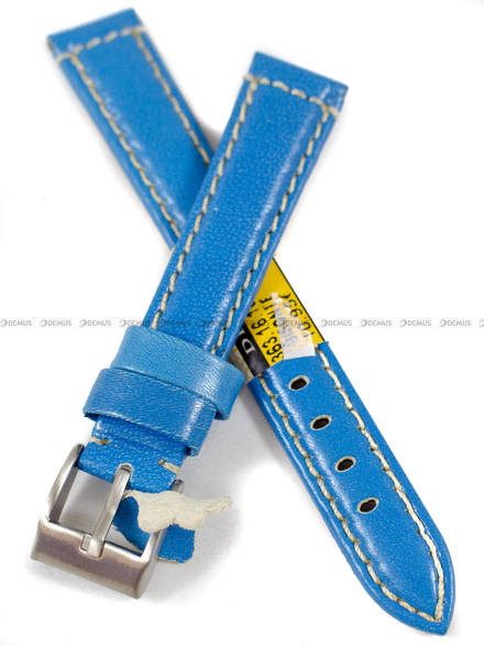 Pasek skórzany do zegarka - Diloy 363.16.16 - 16 mm