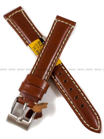 Pasek skórzany do zegarka - Diloy 363.16.3 - 16 mm