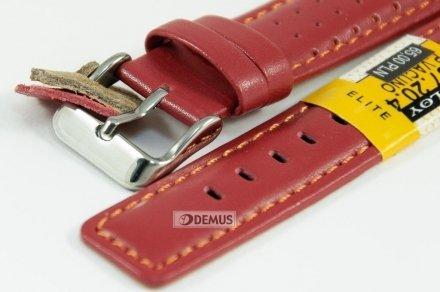 Pasek skórzany do zegarka - Diloy 367.20.4 - 20mm