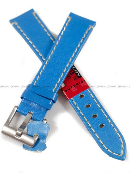 Pasek skórzany do zegarka - Diloy 373.18.16 - 18 mm