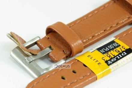 Pasek skórzany do zegarka - Diloy 376.18.3 - 18mm