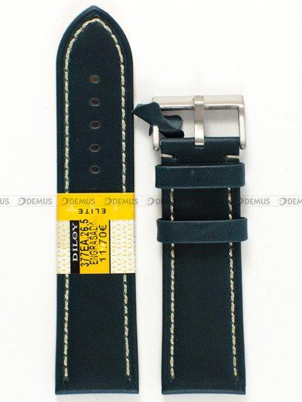 Pasek skórzany do zegarka - Diloy 377EA.26.5 - 26 mm