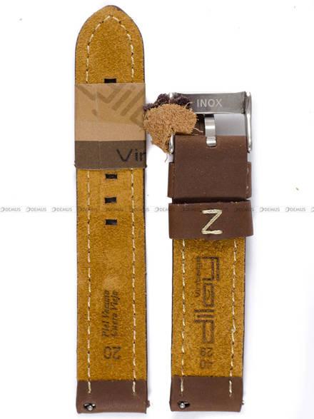Pasek skórzany do zegarka - Diloy 384.20.2 - 20mm