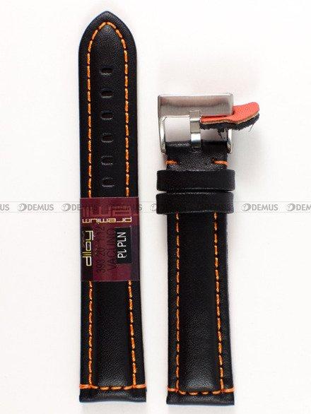 Pasek skórzany do zegarka - Diloy 393.20.1.12 - 20 mm
