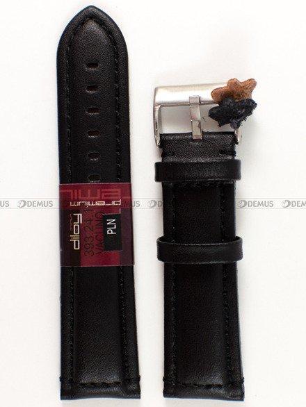 Pasek skórzany do zegarka - Diloy 393.24.1 - 24 mm