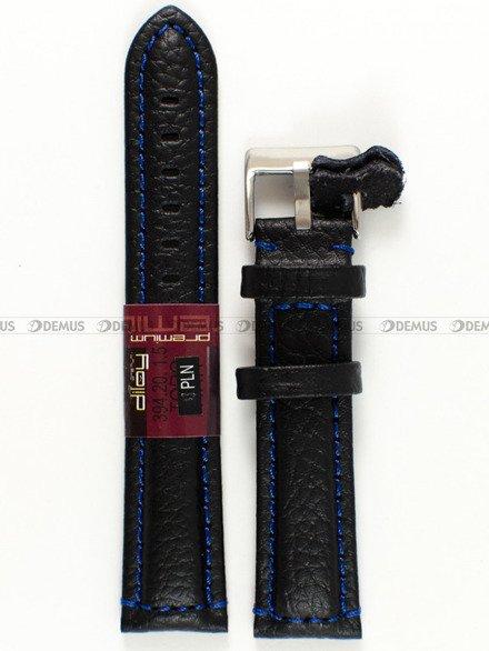 Pasek skórzany do zegarka - Diloy 394.20.1.5 - 20 mm