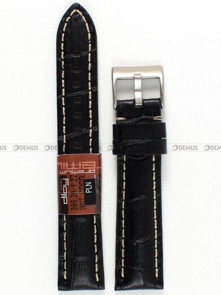 Pasek skórzany do zegarka - Diloy 395.20.1.22 - 20 mm