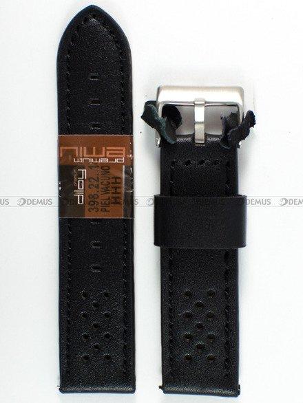 Pasek skórzany do zegarka - Diloy 398.22.1 - 22 mm