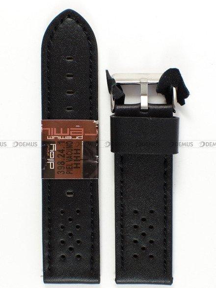 Pasek skórzany do zegarka - Diloy 398.24.1 - 24 mm