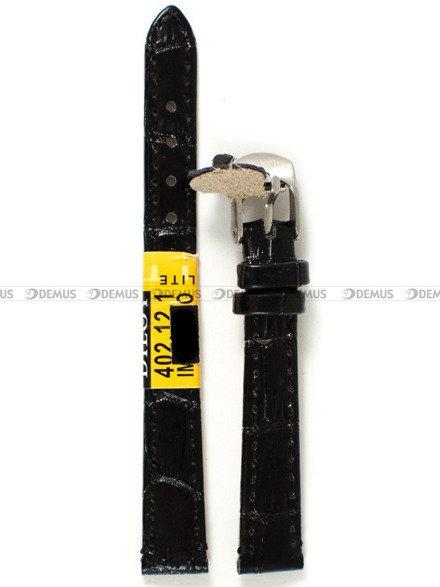 Pasek skórzany do zegarka - Diloy 402.12.1 - 12 mm