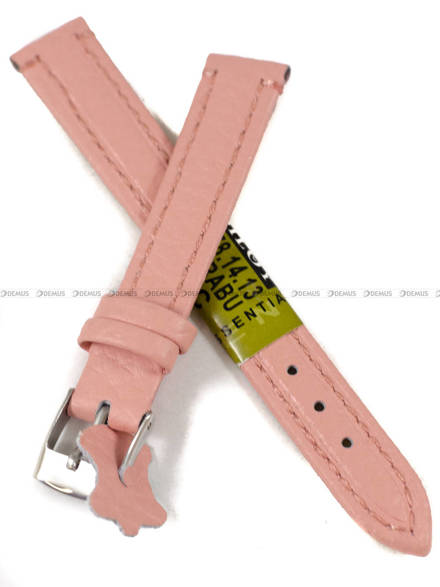 Pasek skórzany do zegarka - Diloy P178.14.13 - 14 mm